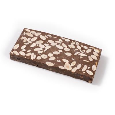 Torró de xocolata amb ametlles